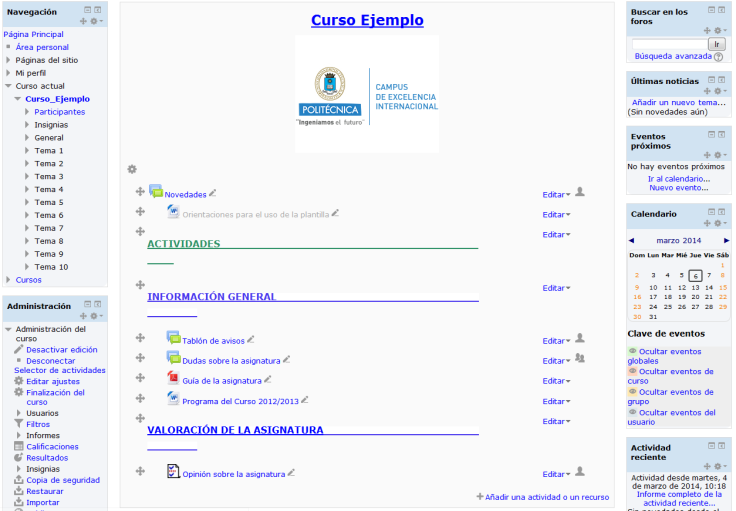 Agregar y modificar recursos. Manual de Moodle 2 3.