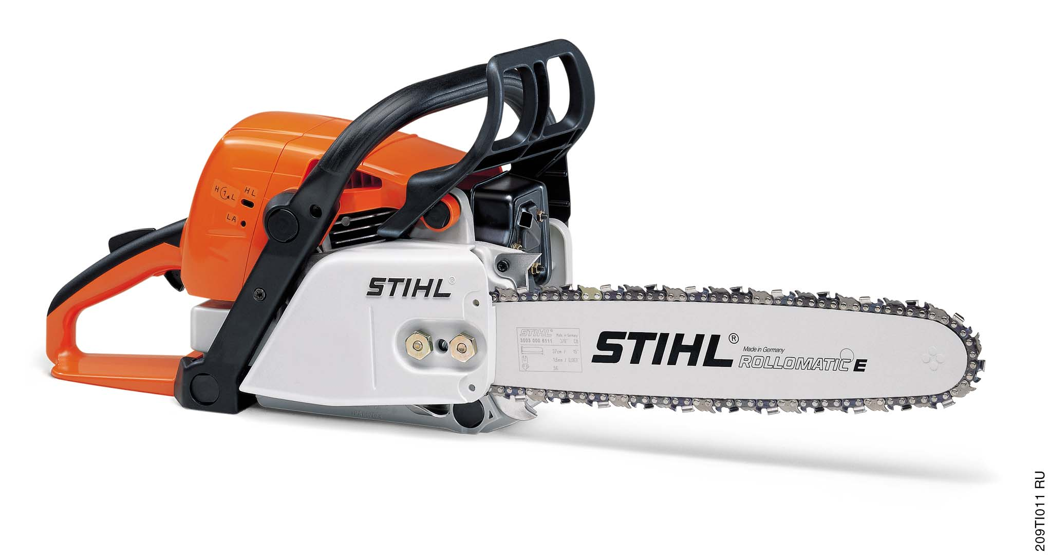 STIH) STIHL MS 290, 310, 390 Instruction Manual Manual de instrucciones Read and follow all safety precautions in Instruction Manual improper use can cause serious or fatal injury.