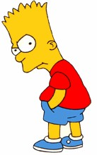 "Hobbies: Listening to jazz music, _ the sax, watching Itchy & Scratchy,, reading _ Favourite Sayings: ""If anyone needs me, I'll be in my "", Bart!!!!!!!!!!. Bart, you are a dimwit. Cut it out Bart!"