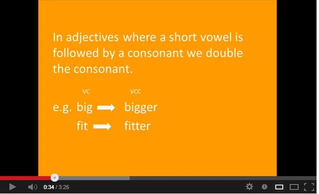 COMPARATIVES AND SUPERLATIVES http://www.youtube.com/watch?