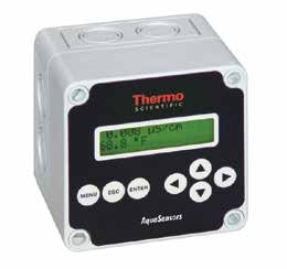 transmisores: simples y multi-parámetros Analizador Universal de Parámetro Simple Thermo Scientific AV88 AnalogPlus Monitor y Controlador Local Multi-Parámetro Thermo Scientific AV38 DataStick