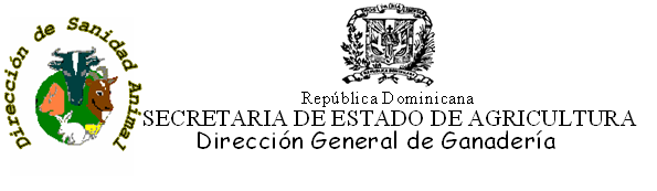 REQUISITOS ZOOSANITARIOS DE LA REPÚBLICA DOMINICANA PARA LA IMPORTACION DE EQUINOS IMPORT HEALTH REQUIREMENTS OF THE DOMINICAN REPUBLIC FOR HORSES Los animales deben venir acompañados por un