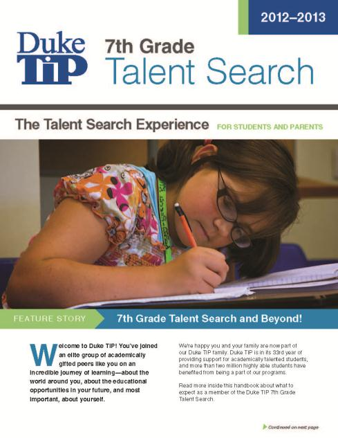 Beneficios: Recursos Útiles The Talent Search