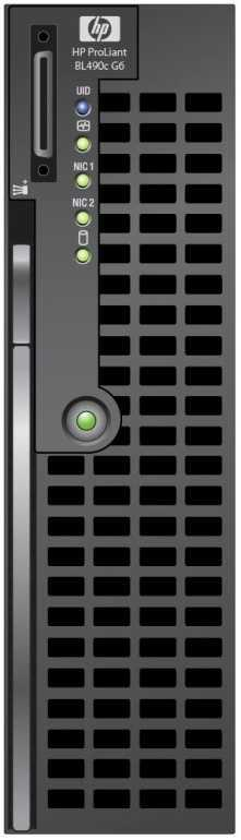 HP ProLiant BL490c G6 BL490c G6 HP Confidential NDA Required Processor Memory Internal Storage Networking Mezzanine Slots Additional Features Management Density Up to two Quad-Core Intel Xeon