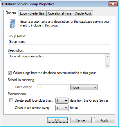 Captura de pantalla 60: Ficha Oracle Database group - General 4.