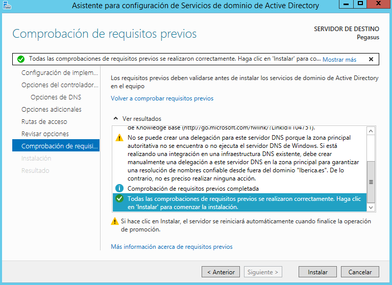 Administración de Sistemas Corporativos basados en Windows 2012 Server: Active Directory 7.