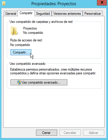 Administración de Sistemas Corporativos basados en Windows 2012 Server: Active Directory 4.