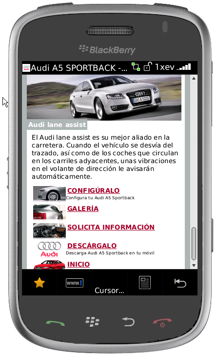 Mobile Internet Mobletters Encuesta Audi A 5