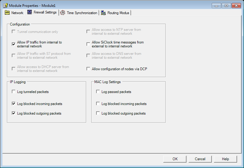 GETTING STARTED 3.2 Ejemplo 2: Firewall - Uso del SCALANCE S como Firewall 4.