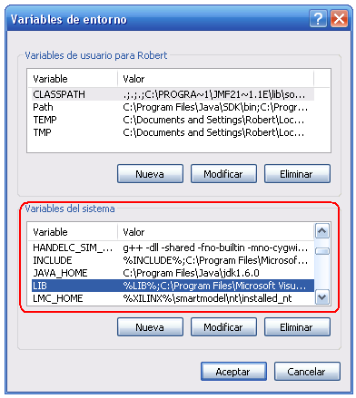 "Ejemplos ""C:\Program Files\Microsoft Visual Studio 8\VC\bin"" ""C:\Program Files\Microsoft Visual Studio"