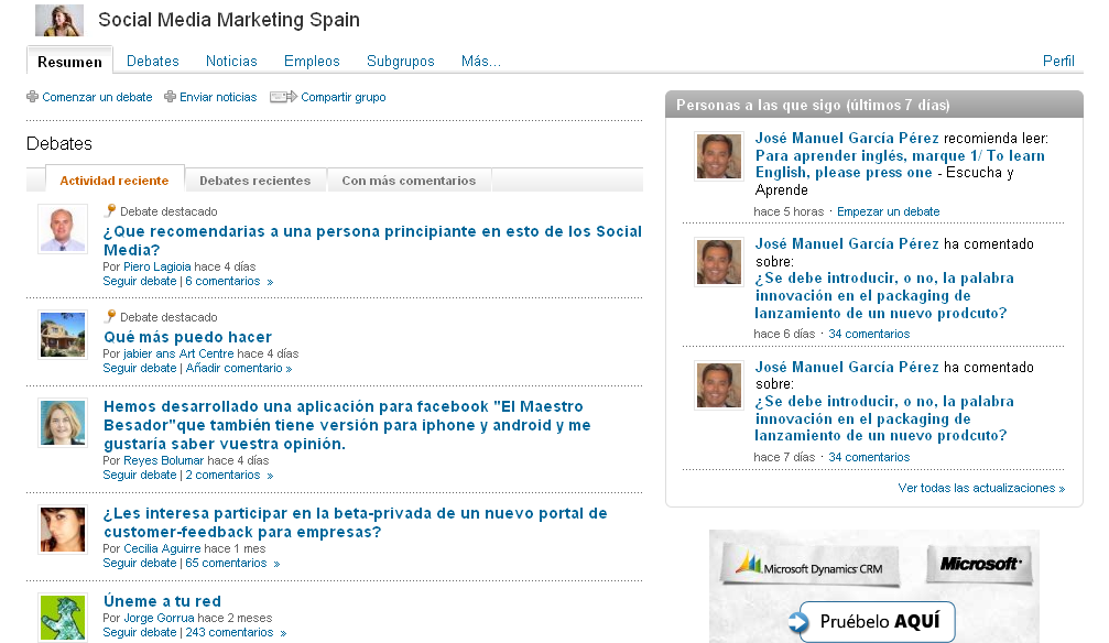 Marketing en medios
