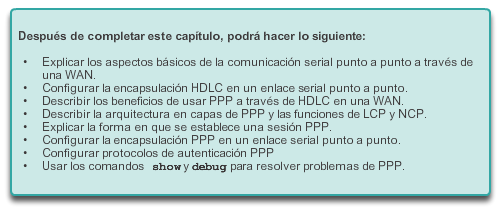 Capítulo 3: Point-to-Point Connections (Conexiones PSTN) 3.0.1.