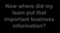 business information?