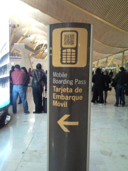 Mobile Boarding Pass Vueling Mobile Boarding Pass: Localizador Integrado