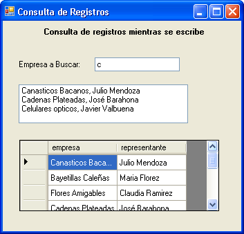 "listaempresas.items.add(filascondatos(""empresa"").tostring & "", "" & filascondatos(""representante"")."
