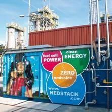 Fuel cell pilot plant in Delfzijl Otras aplicaciones AkzoNobel Industrial Chemicals and Nedstack Fuel Cell Technology work together in a pilot project with fuel