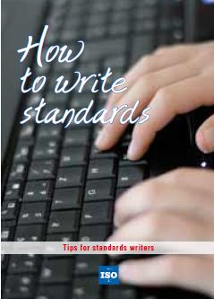 Recursos en ISO Online (www.iso.org) How to write Standards brochure http://www.
