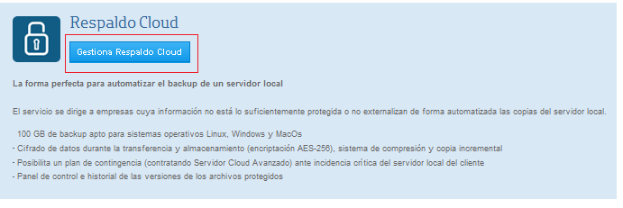 .3 Sistemas operativos soportados Respaldo Cloud ha sido probado para los siguientes Sistemas Operativos: Windows Windows Server 2003/2008/2008 R2, todas las ediciones para 32 y 64 bitswindows Server