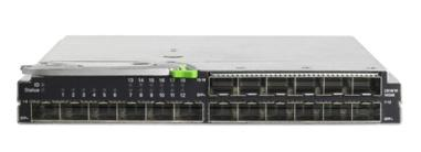 PRIMERGY BX900/400 I/O Connectivity I/O traffic between server blades and the external world is directed through the midplane and up to four Connection Blades.