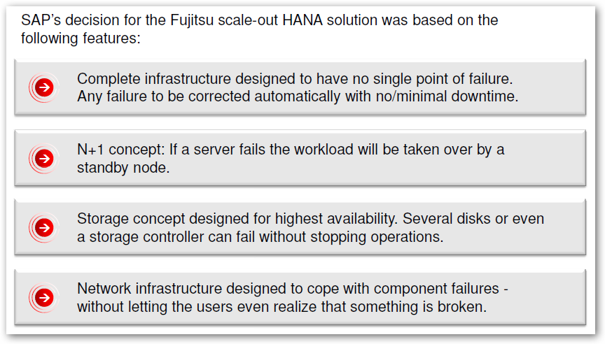 Key features of FUJITSU infrastructure 26