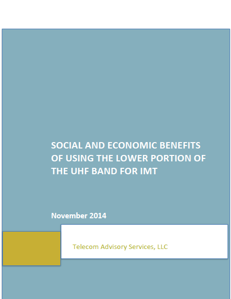 LOW-UHF STUDY IN LATAM Done by TAS as a complement to the previsous study, commissioned by GSMA Presented in