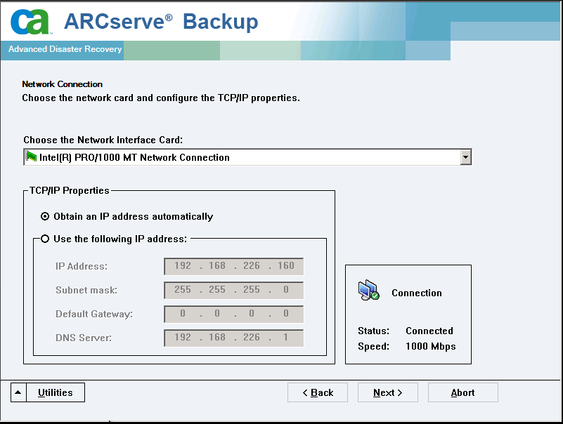 Recuperación de desastres en Windows Server 2008 y Windows 7 c.