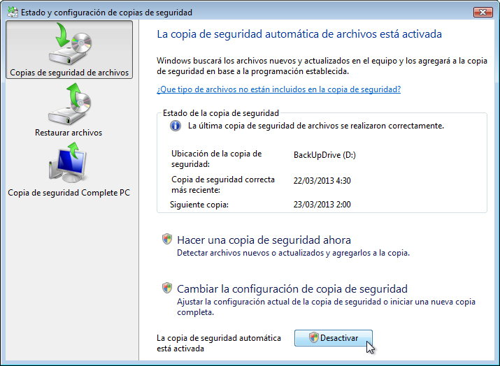 IT Essentials 5.0 10.3.1.5 Práctica de laboratorio: Copia de seguridad y recuperación de datos en Windows Vista Introducción Imprima y complete esta práctica de laboratorio.