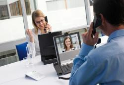 TELEPRESENCE Strengthen relationships and finalize decisions with executives from around the globe EXECUTIVE OFFICE Manage by walking around right from your desk