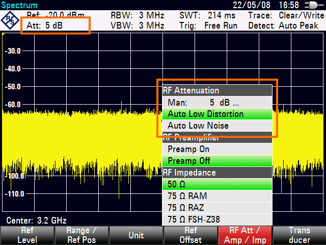Getting Started Using the Spectrum Analyzer (Option R&S ZVH-K1) 3.4 Using the Spectrum Analyzer (Option R&S ZVH-K1) Equipped with option R&S ZVH-K1 (order number 1309.6823.