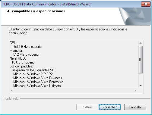 4) Revise los requisitos del sistema de este software y, a