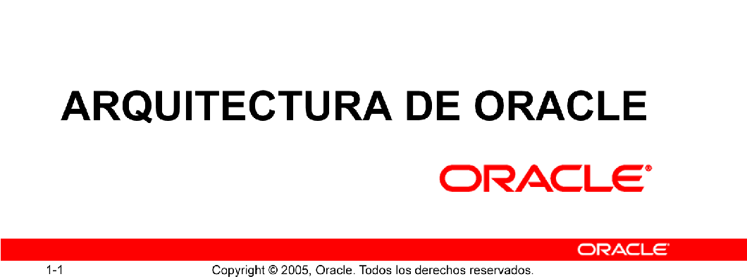 Base de Datos Oracle 10g: