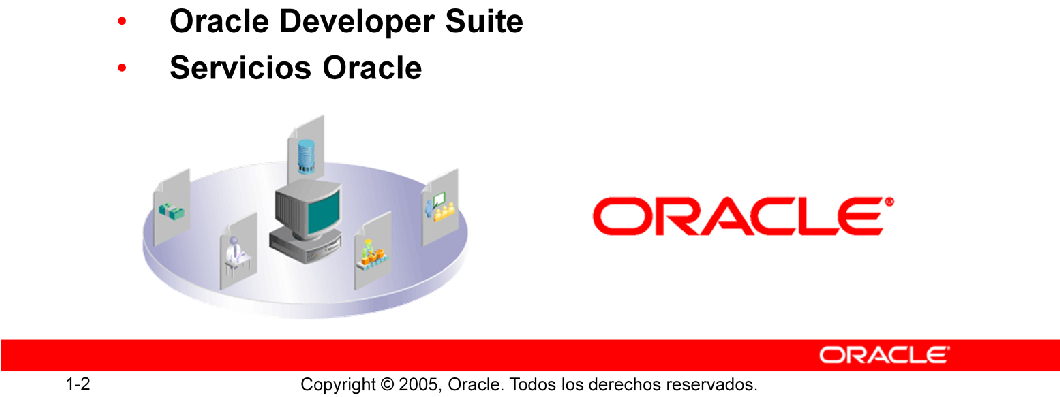 Productos Oracle Bases de datos Oracle: La base de datos Oracle es la primera base de datos diseñada para Enterprise Grid Computing (el modo más flexible y rentable de gestionar información y