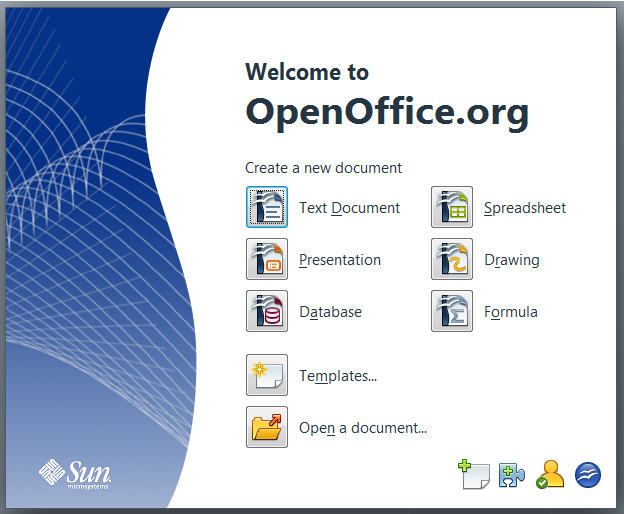 4.3. Software adicional 4.3.1. Open Office OpenOffice.