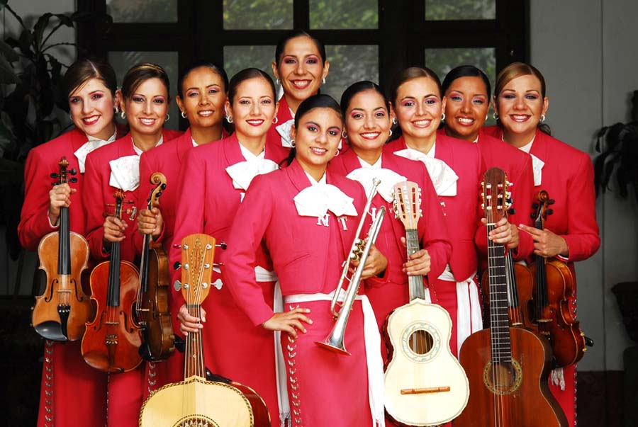 Featuring Mariachi Femenil Nuevo Tecalitlan Saturday,May 1st. 5:00 p.m. After Artsfest Between National Ave.