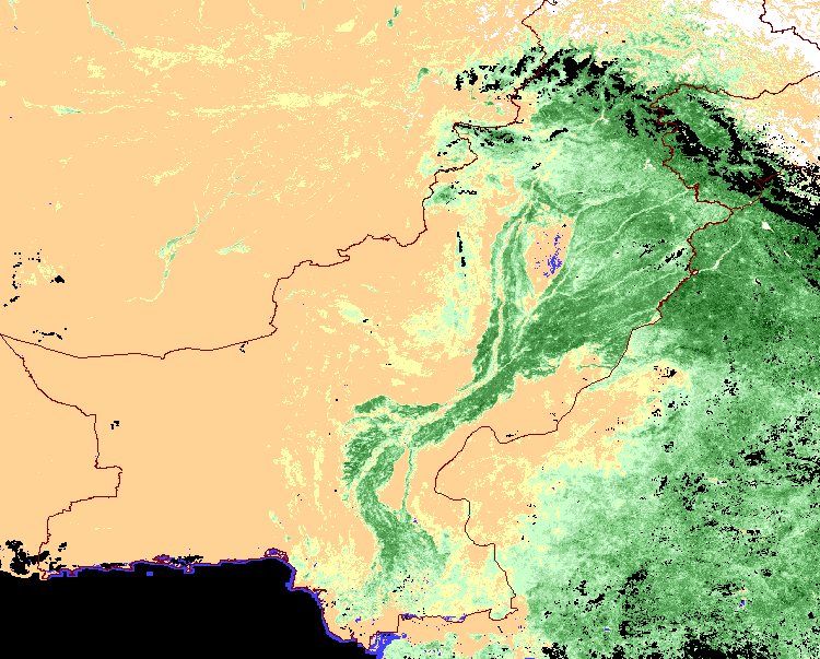 Normalized difference vegetation