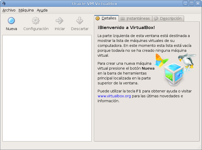 Figura 29. Programa VirtualBox 2.1.