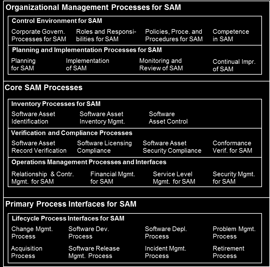 4.3 Planning and Implementation Processes for SAM
