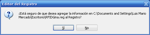 ACTUALIZANDO EL REGISTRO DE WINDOWS.