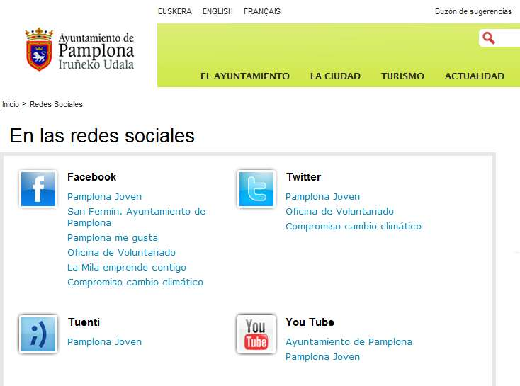 Los Social Media y las AAPP: Government 2.