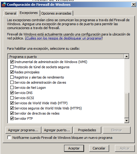 Actividad 3: Instalación y configuración del servidor FTP Filezilla en Windows 2008 Server.