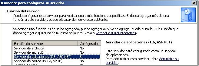Servidor web en Windows Server, Internet Information Services IIS 1.