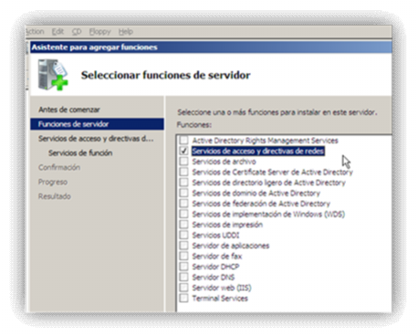 9.- Configuración de una red privada virtual en Windows server 2008 Vamos a administrador del servidor en inicio Vamos a la