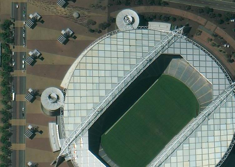 WorldView-2 Estadio Olímpico, Australia