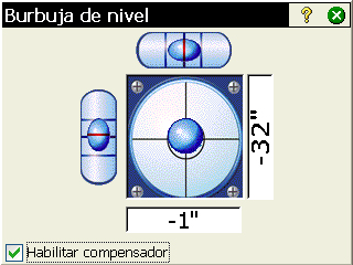 9. Versión integrada de Survey Pro Survey Pro se utiliza integrado en una estación total Nikon Nivo o Spectra Precision FOCUS.