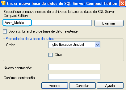 203 Server Management Studio, en el Explorador de objetos hacemos clic en Conectar y escogemos SQL Server Compact Edition. Fig.
