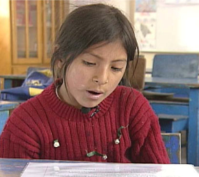 Dani, a seven-year-old in a well-functioning public school, was able to read the passage in much less than 60 seconds, and answered all the questions.