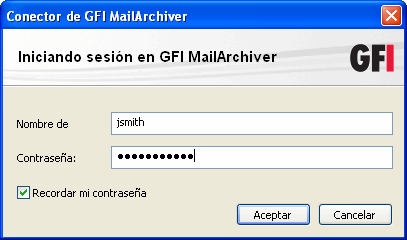 Screenshot 2- Microsoft Outlook 2010: La carpeta GFI MailArchiver Mailbox 2.