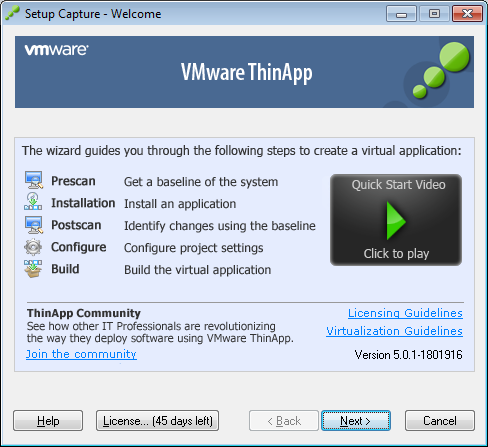 Figura 42, Configuración de Vmware View Conection 3.5.