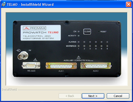 USER S MANUAL. PROWATCH TELMO 5 SOFTWARE INSTALLATION AND REMOTE CONTROL 5.