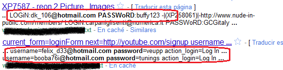 1.4 - Fugas de información y Malas configuraciones Google Hacking FileType Site InUrl InTitle Ext Bing Hacking FileType IP Feed Contains